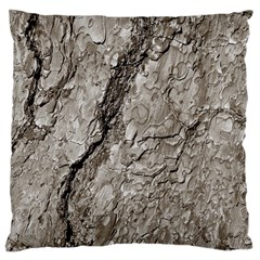 Tree Bark A Standard Flano Cushion Case (one Side) by MoreColorsinLife