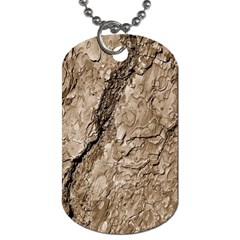 Tree Bark B Dog Tag (two Sides) by MoreColorsinLife