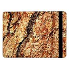 Tree Bark D Samsung Galaxy Tab Pro 12 2  Flip Case by MoreColorsinLife