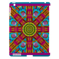 Sunny And Bohemian Sun Shines In Colors Apple Ipad 3/4 Hardshell Case (compatible With Smart Cover) by pepitasart