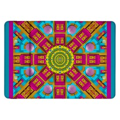 Sunny And Bohemian Sun Shines In Colors Samsung Galaxy Tab 8 9  P7300 Flip Case by pepitasart