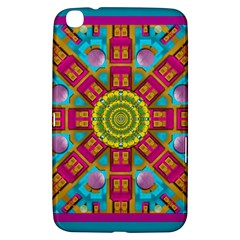 Sunny And Bohemian Sun Shines In Colors Samsung Galaxy Tab 3 (8 ) T3100 Hardshell Case  by pepitasart