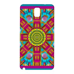 Sunny And Bohemian Sun Shines In Colors Samsung Galaxy Note 3 N9005 Hardshell Back Case by pepitasart