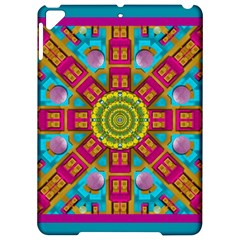 Sunny And Bohemian Sun Shines In Colors Apple Ipad Pro 9 7   Hardshell Case by pepitasart
