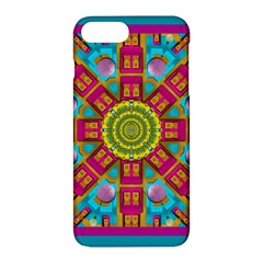 Sunny And Bohemian Sun Shines In Colors Apple Iphone 7 Plus Hardshell Case by pepitasart