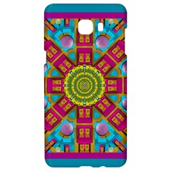 Sunny And Bohemian Sun Shines In Colors Samsung C9 Pro Hardshell Case  by pepitasart
