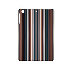 Pear Blossom Teal Orange Brown Coordinating Stripes  Ipad Mini 2 Hardshell Cases by ssmccurdydesigns
