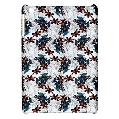 Pear Blossom Teal Orange Brown  Apple Ipad Mini Hardshell Case by ssmccurdydesigns
