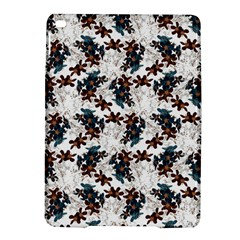Pear Blossom Teal Orange Brown  Ipad Air 2 Hardshell Cases by ssmccurdydesigns