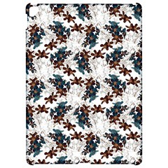 Pear Blossom Teal Orange Brown  Apple Ipad Pro 12 9   Hardshell Case by ssmccurdydesigns