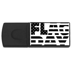 Flag Day Flag USB Flash Drive Rectangular (2 GB) by CustomYourOwn