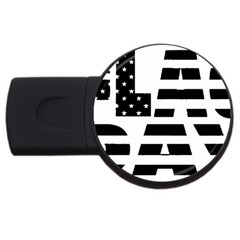 Flag Day Flag USB Flash Drive Round (4 GB) by CustomYourOwn