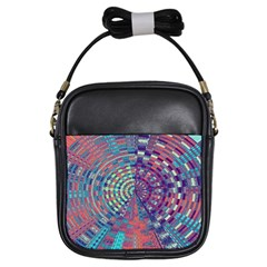 Gateway To Thelight Pattern 4 Girls Sling Bags by Cveti