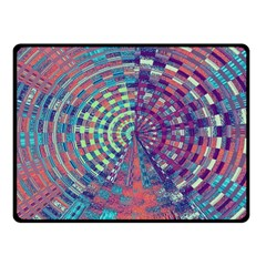 Gateway To Thelight Pattern 4 Fleece Blanket (small) by Cveti