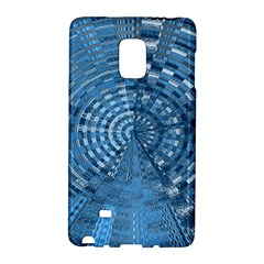 Gateway Pattern Blue 3 Samsung Galaxy Note Edge Hardshell Case by Cveti