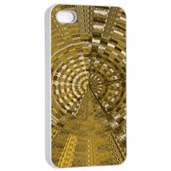 Gatway To Thelight Pattern 4 Apple Iphone 4/4s Seamless Case (white) by Cveti