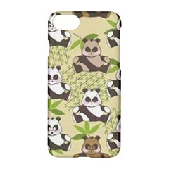 Fun Panda Pattern Apple Iphone 7 Hardshell Case by allthingseveryday