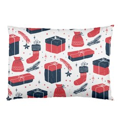 Christmas Gift Sketch Pillow Case by patternstudio