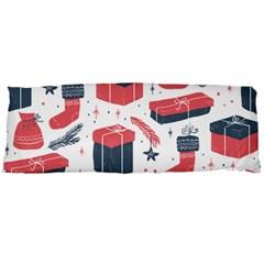Christmas Gift Sketch Body Pillow Case (dakimakura) by patternstudio