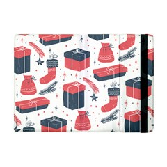 Christmas Gift Sketch Apple Ipad Mini Flip Case by patternstudio