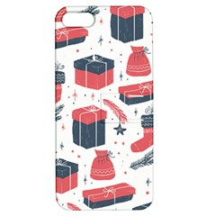Christmas Gift Sketch Apple Iphone 5 Hardshell Case With Stand by patternstudio