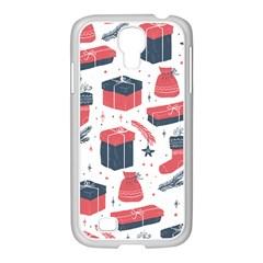 Christmas Gift Sketch Samsung Galaxy S4 I9500/ I9505 Case (white) by patternstudio