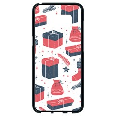 Christmas Gift Sketch Samsung Galaxy S8 Black Seamless Case by patternstudio