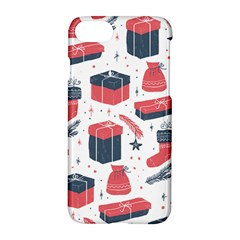 Christmas Gift Sketch Apple Iphone 8 Hardshell Case by patternstudio