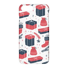Christmas Gift Sketch Apple Iphone 8 Plus Hardshell Case by patternstudio