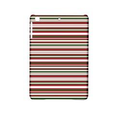 Christmas Stripes Pattern Ipad Mini 2 Hardshell Cases by patternstudio