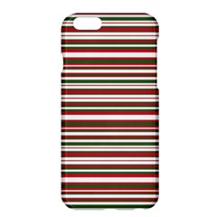 Christmas Stripes Pattern Apple Iphone 6 Plus/6s Plus Hardshell Case by patternstudio