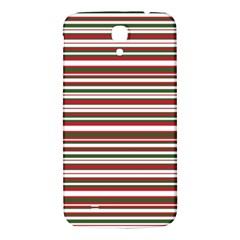 Christmas Stripes Pattern Samsung Galaxy Mega I9200 Hardshell Back Case by patternstudio