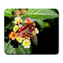 Bee Flower Large Mousepad by CustomYourOwn
