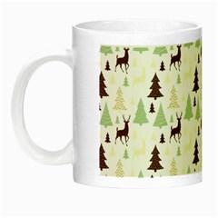 Reindeer Tree Forest Night Luminous Mugs by patternstudio