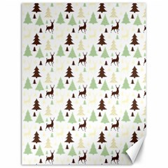Reindeer Tree Forest Canvas 12  X 16   by patternstudio
