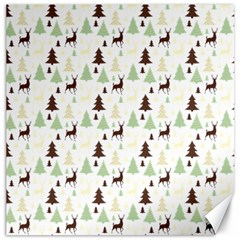 Reindeer Tree Forest Canvas 16  X 16   by patternstudio