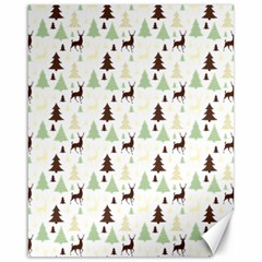 Reindeer Tree Forest Canvas 16  X 20   by patternstudio