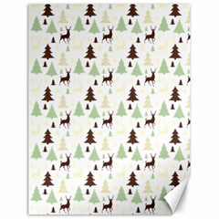 Reindeer Tree Forest Canvas 18  X 24   by patternstudio