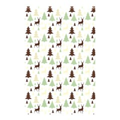 Reindeer Tree Forest Shower Curtain 48  X 72  (small)  by patternstudio