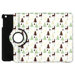 Reindeer Tree Forest Apple Ipad Mini Flip 360 Case by patternstudio