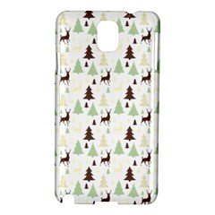 Reindeer Tree Forest Samsung Galaxy Note 3 N9005 Hardshell Case by patternstudio