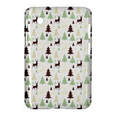 Reindeer Tree Forest Samsung Galaxy Tab 2 (7 ) P3100 Hardshell Case  by patternstudio