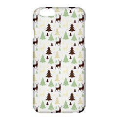 Reindeer Tree Forest Apple Iphone 6 Plus/6s Plus Hardshell Case by patternstudio