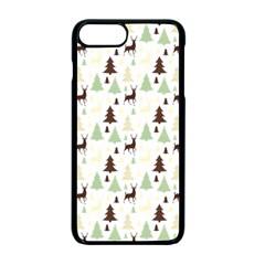 Reindeer Tree Forest Apple Iphone 7 Plus Seamless Case (black) by patternstudio