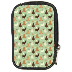 Reindeer Tree Forest Art Compact Camera Cases by patternstudio