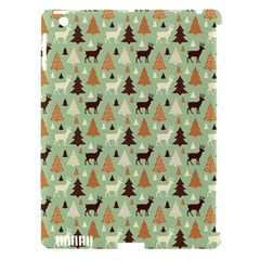 Reindeer Tree Forest Art Apple Ipad 3/4 Hardshell Case (compatible With Smart Cover) by patternstudio