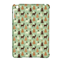 Reindeer Tree Forest Art Apple Ipad Mini Hardshell Case (compatible With Smart Cover) by patternstudio