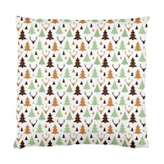 Reindeer Christmas Tree Jungle Art Standard Cushion Case (two Sides) by patternstudio