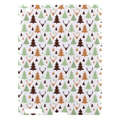 Reindeer Christmas Tree Jungle Art Apple Ipad 3/4 Hardshell Case by patternstudio