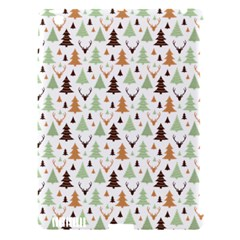 Reindeer Christmas Tree Jungle Art Apple Ipad 3/4 Hardshell Case (compatible With Smart Cover) by patternstudio